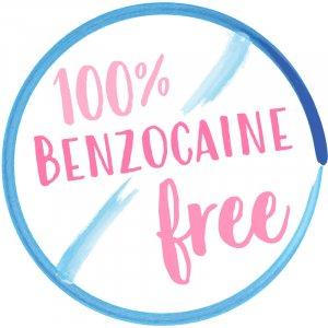 100 Percent Benzocaine Free