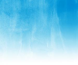 blue watercolor fade to white
